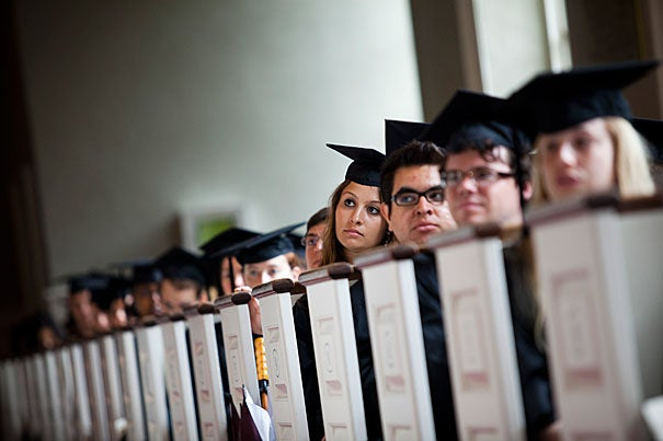 Harvard College granted a total of 1,552 degrees at Harvard's 361st Commencement.