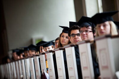 """""""From the day you arrived on campus nearly four years ago, events conspired to make you an extraordinary group,"""" President Drew Faust told a group of graduating seniors in her Baccalaureate Address. The Baccalaureate Service is one of Harvard's oldest traditions, held on and off since 1642."""