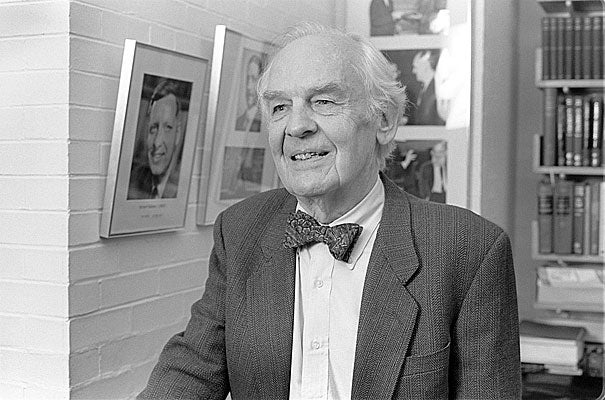 By the time he arrived at Harvard, William Von Eggers Doering's work had been recognized by election to the National Academy of Sciences, an honor achieved subsequently by five of his former graduate students. Doering eventually received many of the American Chemical Society's top prizes, and he remains the only person ever to receive the ACS's highest awards for both organic synthesis and mechanistic organic chemistry, an achievement that underscores the richness of Doering's work, which extended over eight decades.