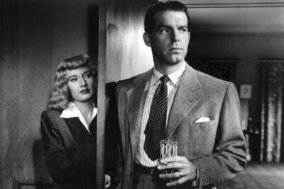 "The Billy Wilder 1944 classic ""Double Indemnity"" features a young Barbara Stanwyck and Fred MacMurray. The Harvard Film Archive is celebrating a centennial moment in cinema history with a blockbuster film series July 13 through Sept. 3."