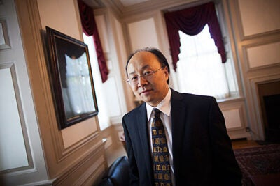 Xiao-Li Meng, Ph.D. '90, the Whipple V.N. Jones Professor of Statistics and chair of the Department of Statistics, has been named the dean of the Graduate School of Arts and Sciences. As Statistics Department chair since 2004, Meng has overseen a dramatic expansion of the department, as the number of undergraduate concentrators has grown from a single digit to more than 70.