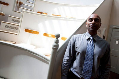 """Assistant Professor of Surgery Biju Parekkadan is investigating new treatments using cells instead of the molecules found in drugs. Parekkadan said he was in high school in the mid-1990s when he felt the pull of genetic engineering: """"I was just amazed. I could not believe you could control a biological thing in this way. I tried to anticipate what the world would look like"""" in the future."""