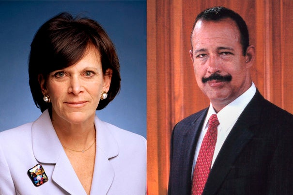 Jessica Tuchman Mathews and Theodore V. Wells Jr. were elected today to become the newest members of the President and Fellows of Harvard College (the Harvard Corporation).