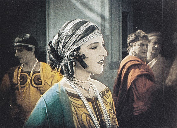 """The Harvard Film Archive screened """"The Last Days of Pompeii,"""" an extravagantly produced 1926 Italian silent that was intended to revive Italy's flagging film industry. It failed to do that, said Adrian Staehli, who is Harvard's Loeb Professor of Classical Archaeology."""