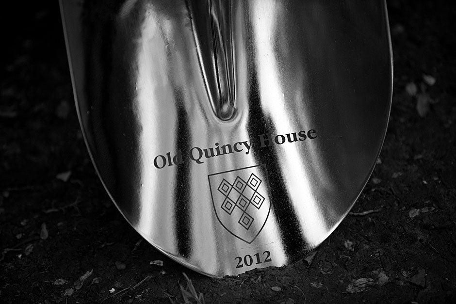 Over the summer, Quincy House began renovations, the first in a College-wide House renewal program. Kris Snibbe/Harvard Staff Photographer