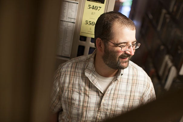 "Josh Bell is the new Briggs-Copeland Lecturer in the English Department. ""I love movies and I tend to have a cinematic conception of the poem anyway,"" he says. ""A poem is a really great place for a director who's not inclined to be a director. As a poet you're producing and giving direction and creating this visual feel and it's very similar to making movies."""