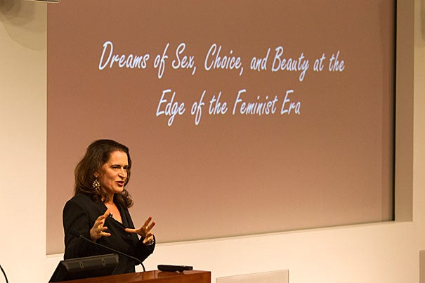"""""""We inherited a set of expectations that, at the moment, are actually dooming us to failure,"""" said Debora Spar, president of Barnard College, in a wide-ranging, lively talk on modern feminism."""