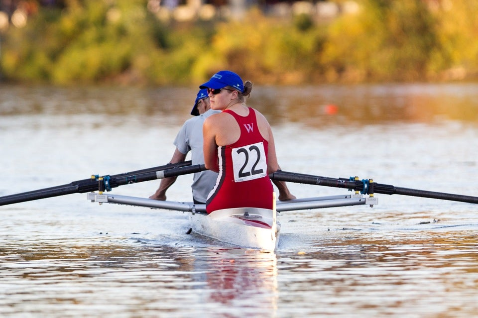 After the race, they row back to the Newell Boat House. The pair placed 21st overall.