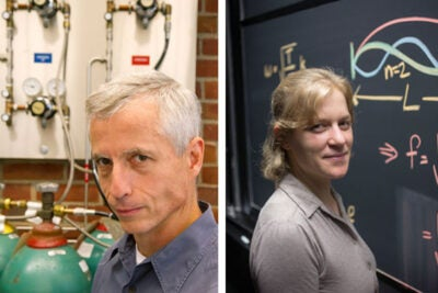 """Jenny Hoffman and Eric Jacobsen epitomize the great teaching that happens in Harvard classrooms every day,"" said Dean Michael D. Smith of the Faculty of Arts and Sciences. ""Excellent scholars in their different fields, they both share a talent for inspiring their students and instilling in them a passion for science. I hope our colleagues throughout the faculty will join me in congratulating them."""