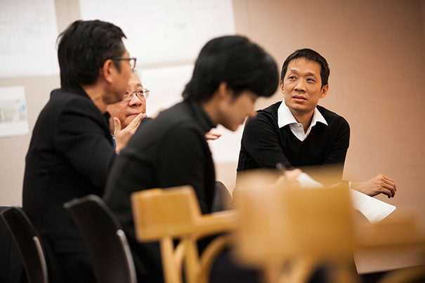 """""""They thoroughly enjoyed the immersion,"""" said Christopher Lee, a design critic in urban design at the Harvard Graduate School of Design (GSD) who is teaching a course that brings students to fast-growing cities in China. """"It's a unique experience that GSD offers students."""""""