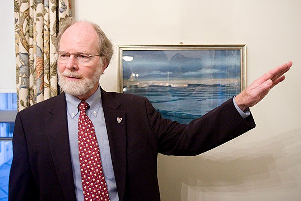 James J. McCarthy, Alexander Agassiz Professor of Biological Oceanography in the Museum of Comparative Zoology, has been appointed to the U.S. Arctic Research Commission.