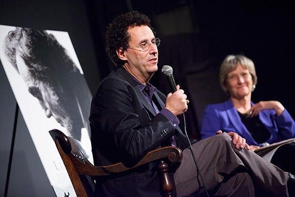 In his time, Abraham Lincoln was adored and admired, considered an empathetic leader and first-rate listener. At the same time, those closest to him also found him cold, removed, and manipulative, said screenwriter Tony Kushner, who sat down with President Drew Faust to dissect Lincoln's legacy following a Harvard-sponsored screening of Kushner's new biopic of the legendary leader.
