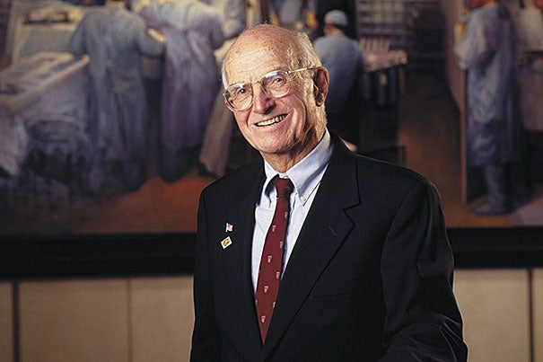 Joseph E. Murray, who shared the 1990 Nobel Prize in physiology or medicine for conducting the world's first successful organ transplant in 1954, died Nov. 26 at the age of 93.