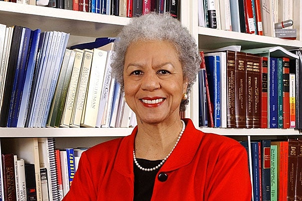 """It's been a great privilege to serve on the Corporation these past seven years and to work with valued colleagues in helping to guide a university that means so much to the world,"" said Harvard Corporation member Patricia A. King, J.D. '69, who will be stepping down in December."