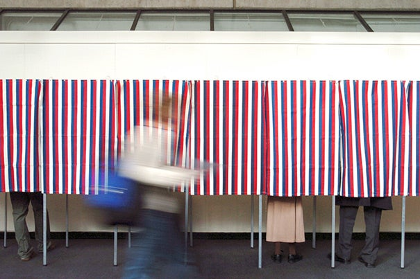 The challenge for pollsters is that although many people may say they intend to vote, studies suggest that as many as two-thirds of those who do not vote told pollsters that they would.