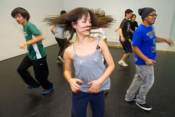"""""""Wintersession at the College is filled with terrific opportunities for students to learn new things or explore their passions,"""" said Dean Evelynn M. Hammonds. During last year's Wintersession, the Harvard Breakers tore up the floor with hip-hop dancers in training."""