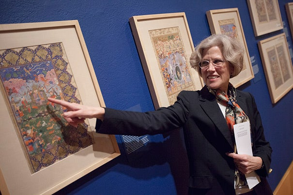 """""""There's a real breadth here,"""" said the exhibition's curator, Mary McWilliams, who holds the namesake chair as Norma Jean Calderwood Curator of Islamic and Later Indian Art. The collection contributes """"a scope and depth that we didn't have before."""""""