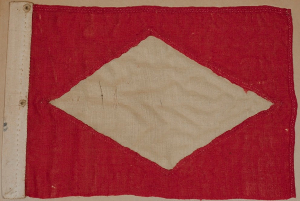 Heard Company Flag. 2003.000.0310. Courtesy of the Ipswich Museum.