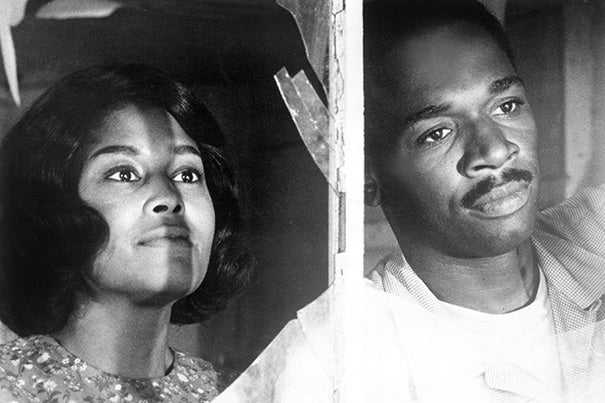 """In """"Nothing But a Man"""" (1964), Abbey Lincoln (left) and Ivan Dixon play a young married couple facing injustice in the Jim Crow South."""