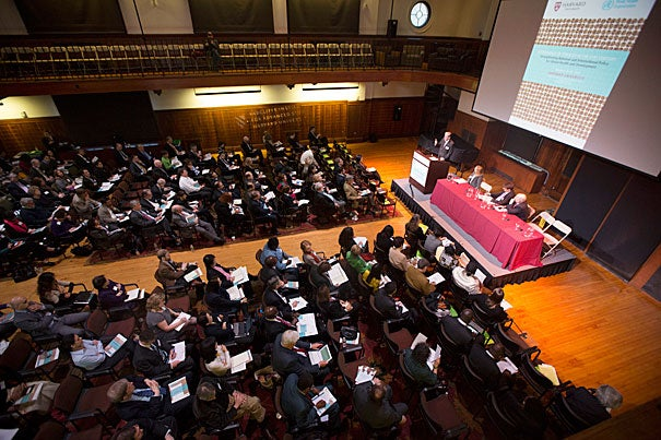 """The conference """"Governance of Tobacco in the 21st Century"""" gathered together 250 registrants from 35 countries to discuss public health, trade, finance, agriculture, and law. By the end of the conference a few recommendations for international controls stood out: Consider public health a basic human right, and tobacco promotion a violation of that right."""