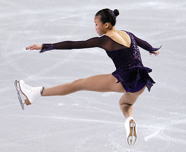"""""""It wasn't an easy decision,"""" said freshman Christina Gao, who is taking some time off from Harvard College to train for the 2014 Olympics. """"Harvard will always be here for me, but the chance to try for the Olympics doesn't happen very often."""""""