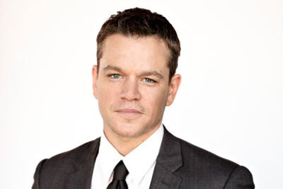 "Hailing from Boston, Matt Damon got his first acting experience with Harvard's  American Repertory Theater. Together with his childhood friend Ben Affleck, Damon co-wrote the acclaimed 1997 drama ""Good Will Hunting."""