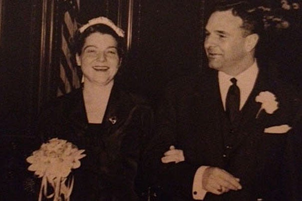 Rene Kuhn Bryant held several positions at Harvard and Radcliffe, and was preceded in death by her husband, Douglas Wallace Bryant (right), director emeritus of Harvard University Library.