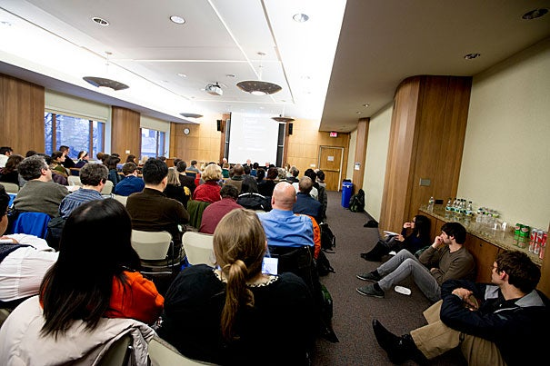 "Diana Sorensen, who it was recently announced would continue as dean of arts and humanities for three more years, moderated a Lamont Library discussion titled ""Digital Humanities: Across the Spectrum,"" which focused on how humanists' training and skills are translating and being utilized in today's digital society."