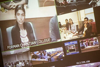 """Transparency is perhaps the most potent tool in the fight against corruption,"" said Associate Professor Karthik Ramanna, launching into a presentation about a fearless publisher of exposés in Russia and an Indian website that crowdsources examples of government officials seeking bribes. His talk was part of a series of live Web chats, hosted by the South Asia Institute and funded by the Pakistan Higher Education Commission."