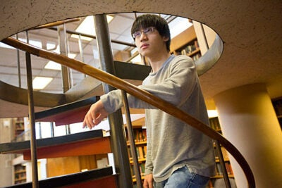 """I haven't been abroad to Europe that much, and I'm excited about the opportunity to study at Cambridge and do some traveling,"" said Tony Feng '13, who will attend the University of Cambridge on a Churchill Scholarship."