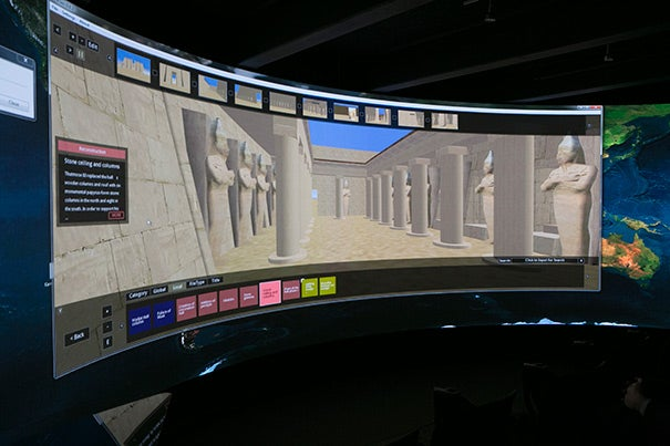 A virtual tour of the Temple of Amun-Ra at Karnak, one of the largest archaeological sites in Egypt.