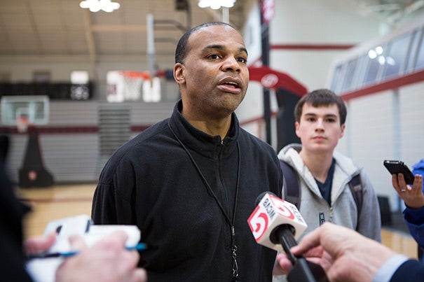 """""""These kids have had a sensational year,"""" said head coach Tommy Amaker. Since the team is something of an underdog, """"People won't be familiar with us, so that's exciting … We've been practicing, so we're ready for anybody."""""""