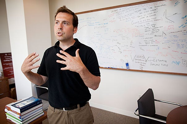 For Assistant Professor of Psychology Joshua Buckholtz, the Sloan Research Fellowship will allow him to exploit new tools to discover brain circuit-level mechanisms governing impulsive decision-making, and to develop novel circuit-based treatments for impulsive symptoms in psychiatric and neurological disorders.