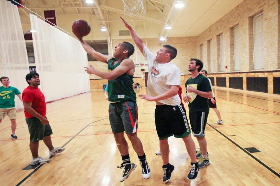 Basketball! It's science in gym clothes!