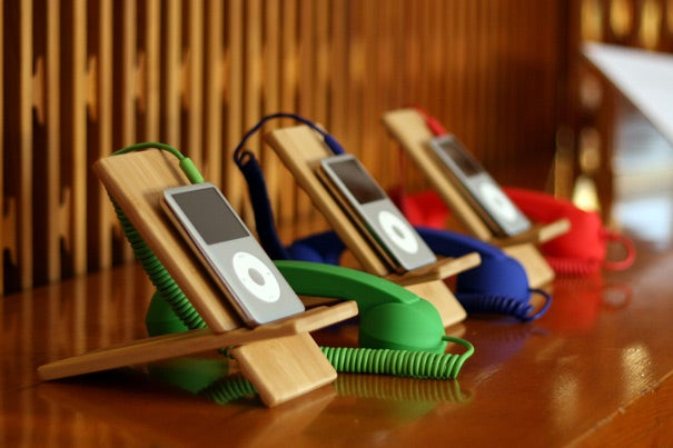 Visitors to Lamont Library's Woodberry Poetry Room can pick up a retro-looking handset and listen to renowned poets — some of the greatest of the past 50 years — recite their works.