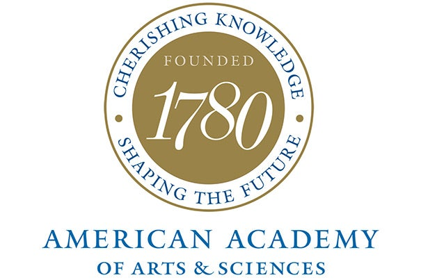 """""""Election to the Academy honors individual accomplishment and calls upon members to serve the public good,"""" said American Academy President Leslie C. Berlowitz. """"We look forward to drawing on the knowledge and expertise of these distinguished men and women to advance solutions to the pressing policy challenges of the day."""""""