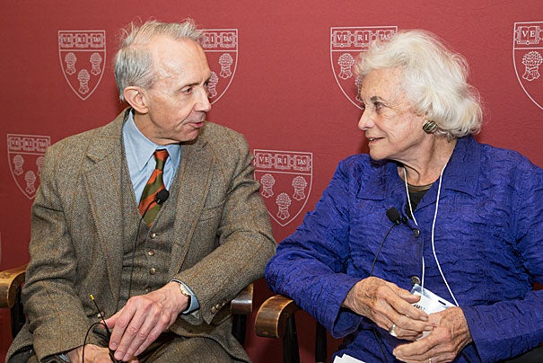 "Retired Supreme Court Justices David Souter and Sandra Day O'Connor tackled ""Civics Education: Why It Matters to Democracy, Society, and You."" O'Connor said her grade-school introduction to civics was ""boring."" ""I really got tired of it,"" she said. O'Connor later realized that civics was a vital topic that could and should be taught much more effectively."