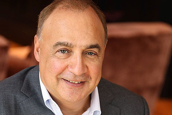 """By partnering with Harvard's world-class biomedical research division, I am delighted to help accelerate the development of new therapies,"" said Len Blavatnik in announcing the $50 million gift from the Blavatnik Family Foundation."