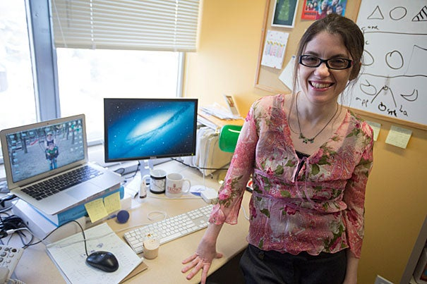In research described earlier this year in the Personality and Social Psychology Bulletin, Elinor Amit (pictured), a College Fellow in psychology, along with two collaborators, Cheryl Wakslak and Yaacov Trope, showed that people increasingly prefer to communicate verbally (versus visually) with people who are distant (versus close) — socially, geographically, or temporally.