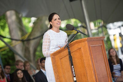 Class Day speaker Soledad O'Brien said her travels have shown her that people around the world aren't so different in their dreams. Bad things happen unless good people put a stop to them, she said. Graduates should be those good people and seek to understand others.