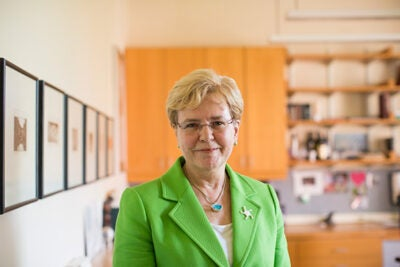 """Operating in D.C. is so much harder than it needs to be,"" said Jane Lubchenco, a former administrator of the National Oceanic and Atmospheric Administration who spoke at Harvard on Thursday. ""It's exhausting, it's frustrating, and at times depressing. That said, it is possible to get things done."""
