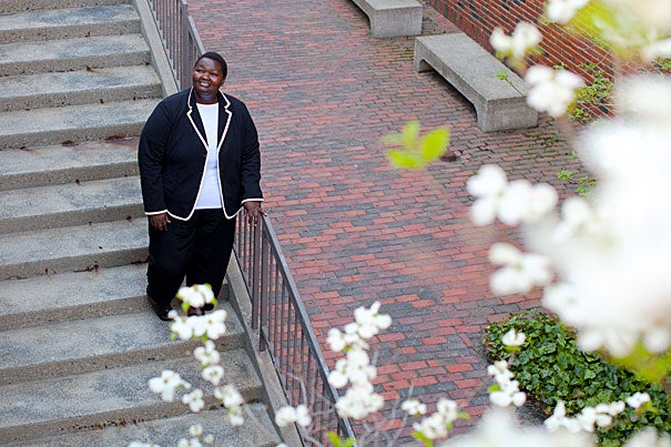 """After being stymied by cultural differences between America and her native Kenya, Anne Bholene Akinyi Odera-Awuor is graduating from the Harvard School of Education, """"a really high platform, a place of respect,"""" she said."""