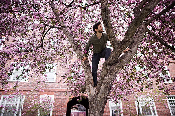 Josh Wortzel '13, a human developmental and regenerative biology concentrator, hopes to combine his passions, bringing new technology to the world, but also bringing theater and song, and maybe even a garden or two, to the hospitals where he will work.