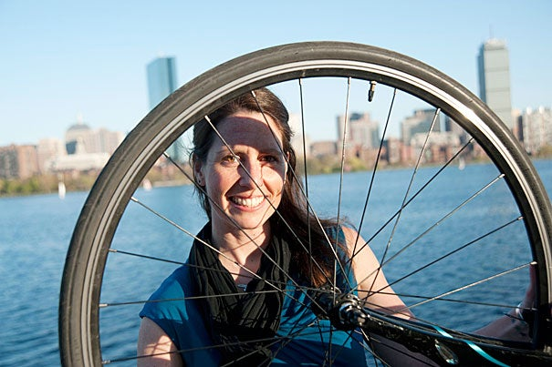 "For the past two years at the Graduate School of Design, Alice Anne Brown studied urban planning — especially how bicycles can make cities more livable, lovable, and viable. ""There is no better way to really see a place,"" she said of biking."