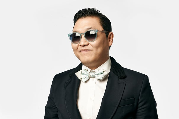 "Korean pop star PSY will be at Harvard on Thursday. Tickets for the event, ""Conversation with PSY,"" are available to those with a Harvard University ID."