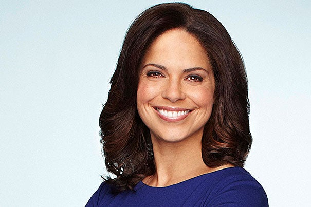 Emmy-winning journalist Soledad O'Brien graduated from Harvard in 1988 and has since reported on breaking news from around the globe.