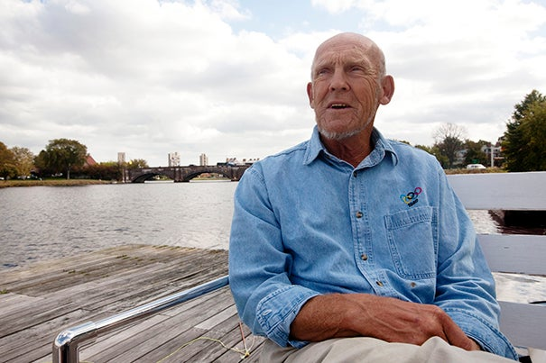 """Harry Parker, the Thomas Bolles Head Coach for Harvard Men's Heavyweight Crew, passed away on June 25. """"His legacy and impact on our program over the last five decades will remain,"""" said Robert L. Scalise, Nichols Family Director of Athletics."""