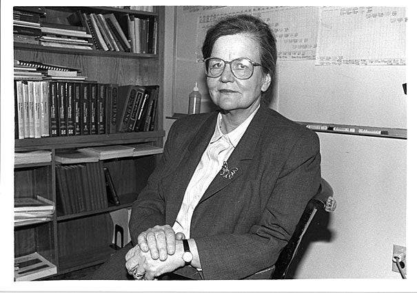 "Mary Ellen Wohl was a pioneer in the development of the discipline known today as pediatric pulmonary medicine.  A Harvard trained physiologist who began her career at Children's Hospital Boston in the early 60's, she experimented with lung volume measuring devices that followed  her ""hunch"" that pulmonary medicine as it was then defined for adults, might well be something that could be applied to children."