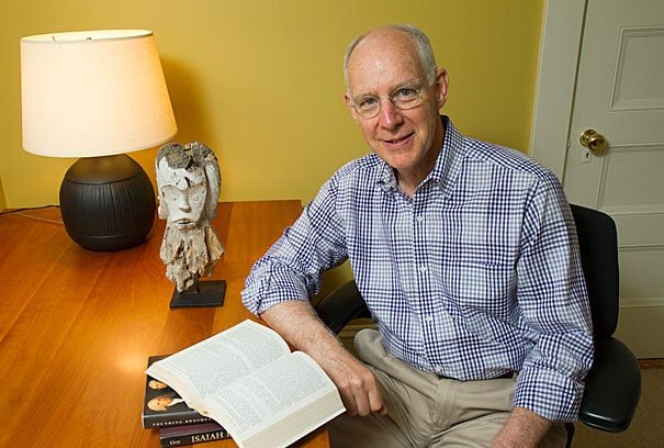 """""""Literature gives students a much more realistic view of what's involved in leading"""" than many business books on leadership, said Joseph L. Badaracco, the John Shad Professor of Business Ethics at Harvard Business School. """"Literature lets you see leaders and others from the inside."""""""