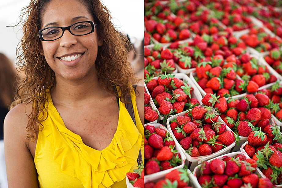 """""""I'm planning to freeze these strawberries and keep them for strawberry smoothies,"""" said shopper Melissa Minaya. """"They're perfect for the middle of the night when I get a craving for something sweet."""""""